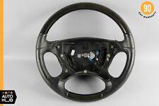 03-09 Mercedes R230 SL500 CLK500 Steering Wheel Wood Black w/ Paddle Shifters