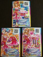 "Trading card of Japanese Animation ""AIKATSU STARS 2nd"" Excellent glow Rare 231"