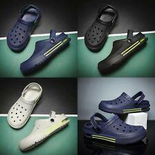 Summer Men's Fashion Slippers Clogs Slip-On Garden Sandals Beach Water Shoes