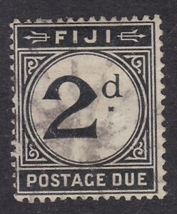 Fiji - 1918 - 2d Postage Due Black - SG D8 - Used (A6H)