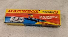 New Lesney Matchbox Superfast SF-15 30 Degree Curve Pack Vintage 1960s
