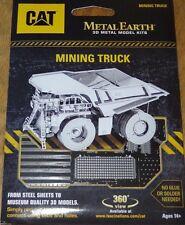 CAT Mining Truck Metal Earth 3D Laser Cut Metal Model Kit Dump Truck MMS424