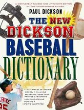 The New Dickson Baseball Dictionary, Paperback book, sports history