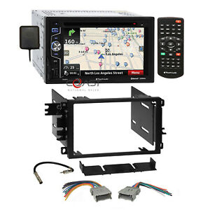 Planet Audio DVD MP3 GPS Stereo Dash Kit Harness for 92-up Chevy GMC Pontiac