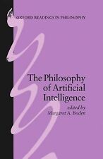 The Philosophy of Artificial Intelligence (1990, Paperback) Margaret A. Boden