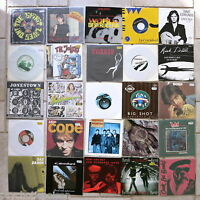 "25 x 7"" Singles Sammlung Lot  → Wave / Alternative / Independent / Rock / Pop"