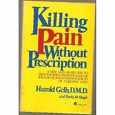 Killing pain without prescription: A new and simpl