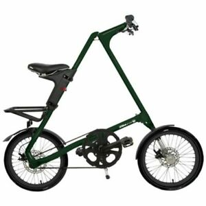 STRIDA EVO ENGLISH DARKGREEN 18 Inches Folding Bike Citybike