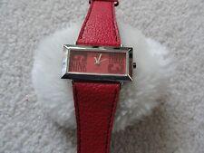 Red Terner Quartz Ladies Watch
