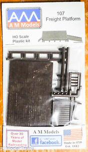 AM Models HO #107 (Freight Platform) Plastic kit (1:87th Scale)