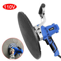 110V Electric Trowel Wall Smoothing Polishing Machine Concrete Cement Mortar New