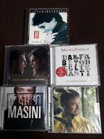 MASINI, BARBAROSSA, GRIGNANI, ZARRILLO - CINQUE CD - NUOVI