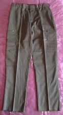 United Uniform Men's Security Pants Style W10266 Cut # 791 Olive Green Size 18