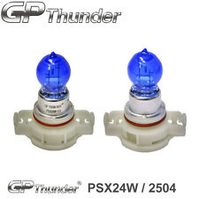 GP Thunder 7500K PSX24W Super White Xenon Halogen Light Bulbs Pair (2504 12276)