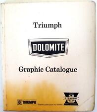 TRIUMPH Dolomite - Car Parts Catalogue -  #520502