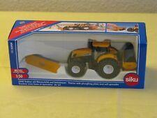 Original Siku 2940 Traktor mit Räumschild & Salzstreuer Neu & OVP
