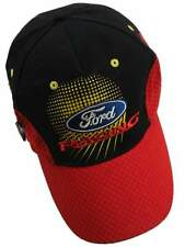 Cap Ford Racing OMSE Red and Black Rally Cross Mesh Pattern Peak Flex Fit