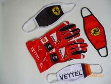 Sebastian Vettel gloves + masks
