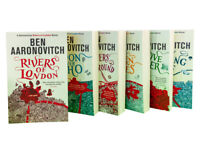 Ben Aaronovitch A Rivers of London Series Collection 6 Books Set