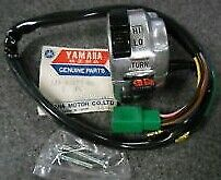 1980 YAMAHA GT80 NEW OEM LEFT HAND HANDLEBAR LIGHT SWITCH