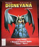 Tomart's Disneyana Update Magazine #22 Walt Disney 1998 Disneyland Souvenirs