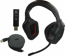 Logitech G930 Wireless Gaming 2.4Gh Headset Dolby 7.1 Surround Sound, Microphone