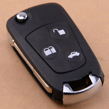 3 Button Flip Remote Key Fob Shell Case Blank Blade Fit FORD Focus Fiesta Mondeo