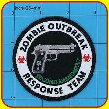ZOMBIE OUTBREAK RESPONSE TEAM patch 92f Morale 2nd Amendment BIOHAZARD Beretta 3