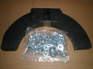 "SNOWTHROWER PADDLE SET 21"" JOHN DEERE TRS21 MODELS W/ HARDWARE"