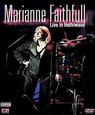 MARIANNE FAITHFULL LIVE IN HOLLYWOOD DVD REGIONS 1 & 4  NTSC  & CD NEW
