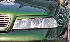 RDX Scheinwerferblenden AUDI A4 B5 bis 1999 Böser Blick Blenden Spoiler Tuning