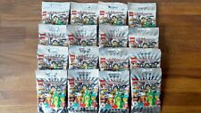 LEGO 71027 SÉRIE 20 - Complet 16 Minifigurines - NEUF (Sachets Ouverts)