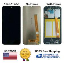 YES For Samsung Galaxy A10e SM-A102U A102U1 LCD Touch Screen Digitizer ± Frame