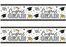 A4 Edible Decor Icing Sheet Congrats Graduation Grad Ribbon Border Edging