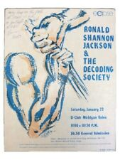 Signed Ronald Shannon Jackson And The