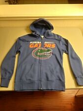 Florida Gators Women's Hooded Sweatshirt Hoodie Medium Majestic Zipped
