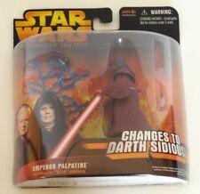 NEW NIP 2005 Star Wars Revenge of the Sith Emperor Palpatine Darth Sidious