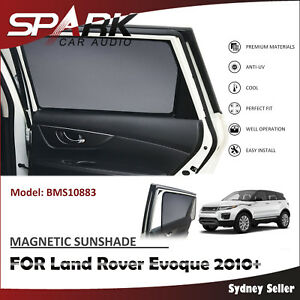 A MAGNETIC CAR WINDOW SUN SHADE BLIND MESH REAR DOOR FOR LAND ROVER EVOQUE 2010+