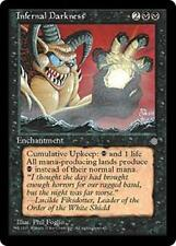 INFERNAL DARKNESS Ice Age MTG Black Enchantment RARE