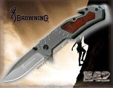 Browning X42 quick opening tactical  foldable multifunctional tool knife