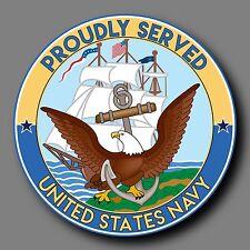 "US Navy Veteran Decal Sticker 4"" USN"