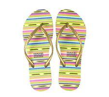 NEW Women's Striped NAMI Flip Flops Size 8