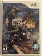 Monster Hunter 3 Tri (Nintendo Wii, 2009) Complete! Sealed Free Shipping!