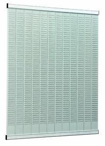 Nobo 1900403 T-Kartenträger für Kartengröße 2, 54 Schlitze, 64 x 960 mm