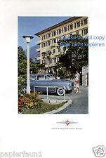 Borgward Isabella Reklame von 1958 Bremen Werbung Dame 50er ad ßß
