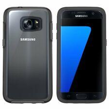 Genuine OtterBox Samsung Galaxy S7 Edge Symmetry Clear Cover Case Black
