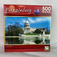 Puzzlebug 500 Piece Jigsaw Puzzle Washington New in Box Sealed
