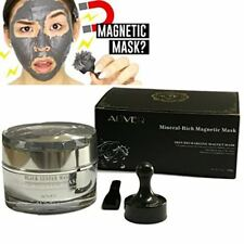 Aliver Mineral-Rich Magnetic Face Mask Pore Cleansing Removes Skin Impurities wi
