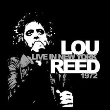 Lou Reed Live In New York 1972 NEW VINYL LP *FREE UK POST *WORLD SHIP