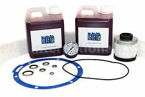 Maintenance Kit (KM52) w/Oil Manufactured to fit Hydrovane Model: 504/25/V04